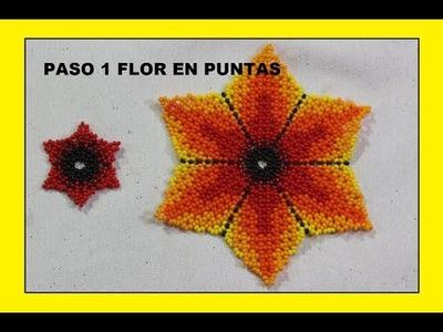 FLOR EN 6 PUNTAS PARTE 1