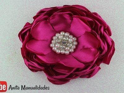 Flor Quemada Paso a Paso - burned flower - сожженный цветок