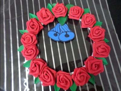 Guirlanda de Rosas de EVA