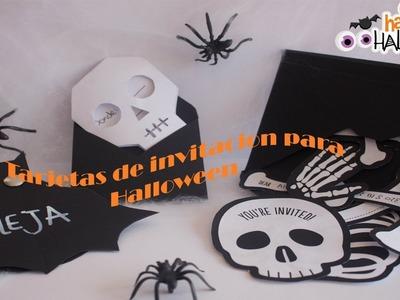 Ideas para invitaciones de Halloween  ????