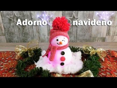 MANUALIDADES  PARA DECORAR EN NAVIDAD 2017 Adornos navideños muy faciles y económico