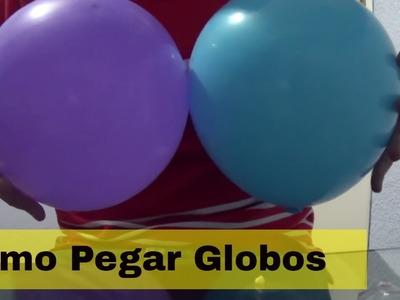 Mejores opciones de como pegar globos