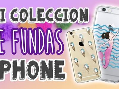 Mi colección de FUNDAS para el iPhone + Mis POPSOCKETS ????