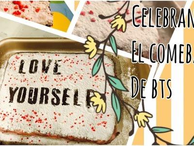 PASTEL DE BTS LOVE YOURSELF | CELEBRANDO EL COMEBACK | Ana Gresh