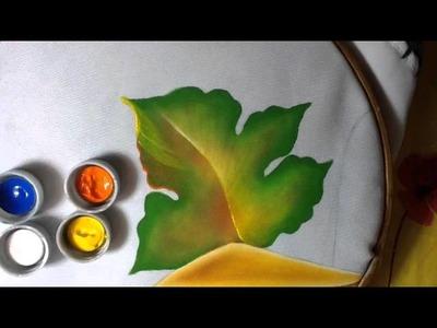 Pintura en tela bodegon # 4 con cony