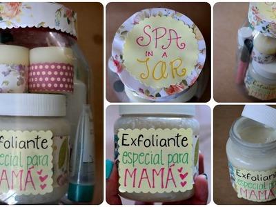 Regalo Fácil para Mamá ♥ Spa in a Jar+Exfoliante Casero