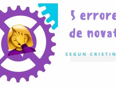 SCRAP DESDE CERO. CINCO ERRORES DE PRINCIPIANTE SEGÚN CRISTINA RADOVAN