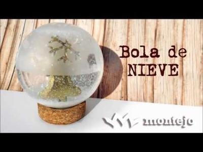 Tutorial: BOLA DE NIEVE con cristal grabado CADENCE
