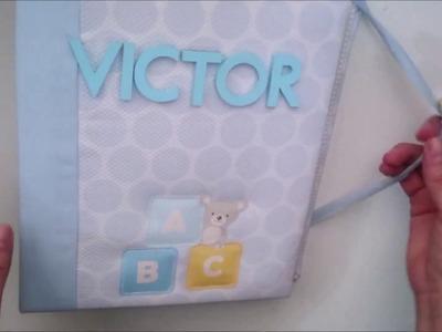 Álbum bebe niño. Azul bebé de Anita y su mundo *INSPIRACIÓN*