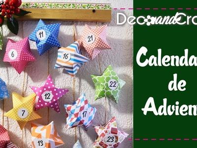 Calendario de Adviento fácil Manualidades para Navidad - DecoAndCrafts