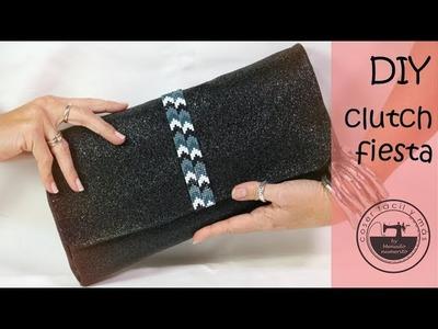 Clucth o bolso de mano de fiesta