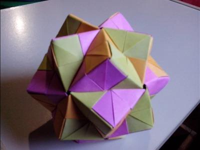 Como hacer una modular sonobe de papel - origami