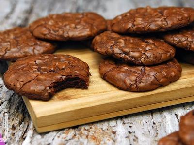 COOKIE BROWNIES   Galletas con textura de Brownie
