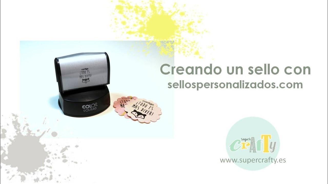 Creando un sello con sellospersonalizados.com