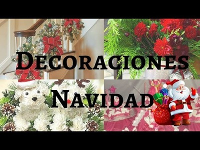 DECORACIONES DE NAVIDAD-IDEAS BONITAS  PARA TU HOGAR