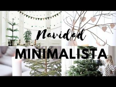 DECORACIONES NAVIDENAS MINIMALISTAS  NAVIDAD  MINIMALISTA