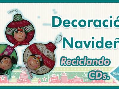 DIY Decoración Navideña con Reciclaje CDS   Victoria RodAcu