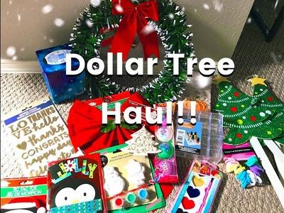 DOLLAR TREE HAUL! COMPRAS DE TIENDA DE DOLLAR NAVIDAD