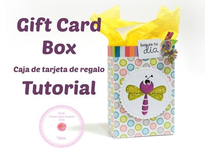 Gift card box-Caja para tarjeta de regalo