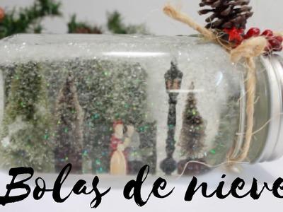 HAZ TU PROPIA BOLA DE NIEVE. SNOWBALL!