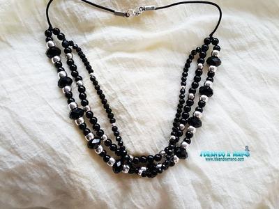 Haz un collar de moda artesanal