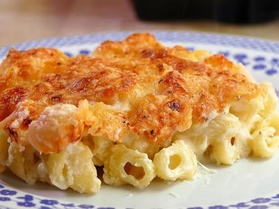 Macarrones con EXTRA DE QUESO: Con bechamel aromatizada de parmesano - recetas de cocina