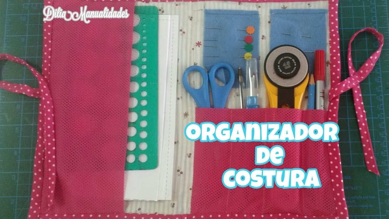 Paso a paso Organizador de costura .muy facil.