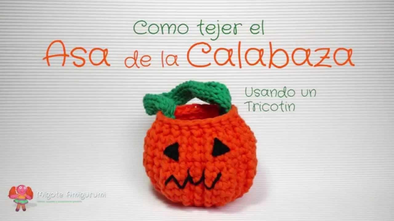 Patrón gratuito amigurumi: Lámpara Calabaza para Halloween