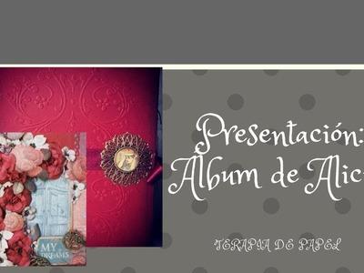 Presentación del resultado del Álbum Alicia en el País de las Maravillas.