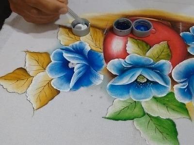 Roberto Ferreira - Como pintar Papolas + dicas.