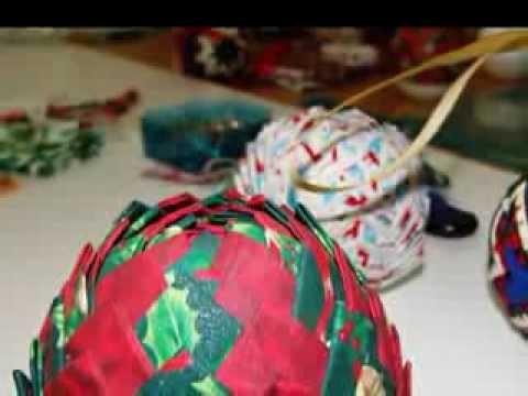 Taller de Patchwork - Piñas de Navidad
