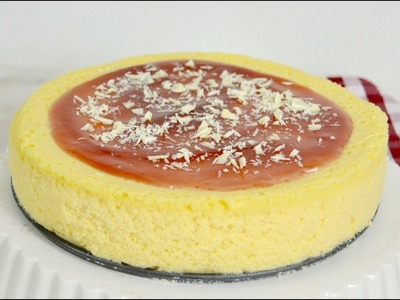 Tarta de queso ¡Con solo 3 ingredientes! Reto postre con 3 ingredientes
