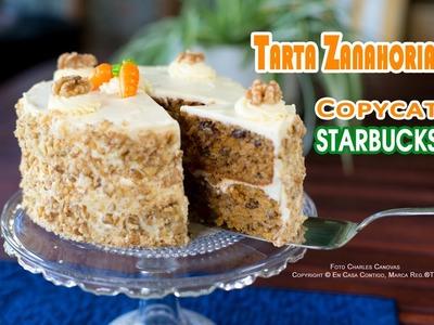 Tarta Zanahoria o Carrot Cake Copycat Starbucks