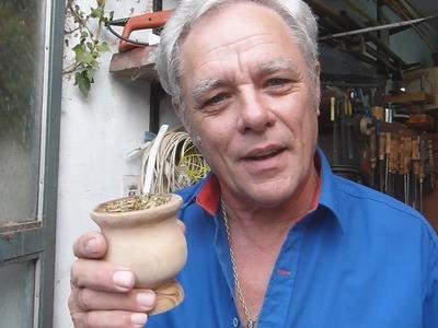 TUTORIAL: MATE CRIOLLO DE MADERA CASERO