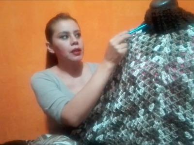 Tutorial Ponchito 1ra Parte (Crocheteando con la Comadre)