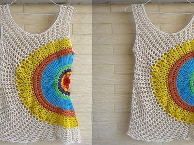 Blusas de Verano  Tejidos a Crochet