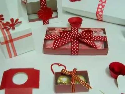 Cajas para cupcake y chocolates