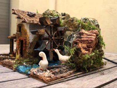 Casa con noria de agua (Ref. 1319)