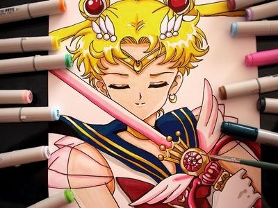 Cómo dibujar a Sailor Moon Super S Atack Speed Drawing How To Draw Sailor Moon | CarlosNaranjoTV