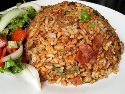 Como hacer arroz cantones chino facil y rapido a mi estilo. Cocina con Jenny