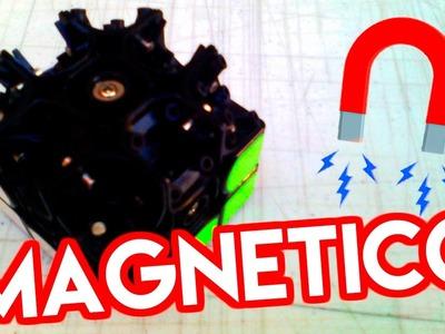 ???? Como hacer MAGNETICO cualquier cubo  | TUTORIAL | modificacion cubo de rubik 3x3 ????