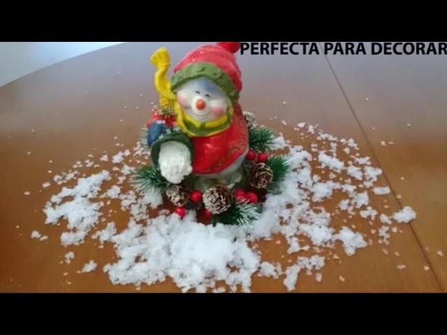 Cómo hacer nieve muy fácil