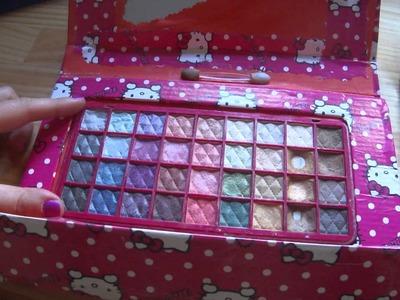 Cómo hacer paletas de maquillaje  Introducción