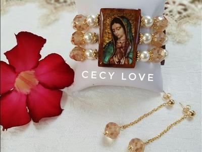 COMO HACER UN BRAZALETE ESPIRITUAL! con Cecy Love Bisutería