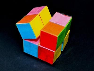 Cómo hacer un INFINITO CUBE de papel