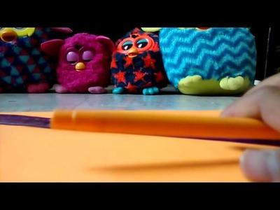 Cómo hacer una lámpara para tu Furby
