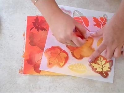 Cómo pintar cuadros con la técnica de esténcils