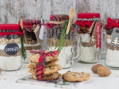 Cookie jar mix: tarros con ingredientes para hacer galletas