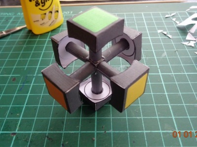 Cubo de Rubik | Papercraft