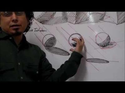 Curso Taller de Dibujo - Como Dibujar Sombras (Primera Parte)